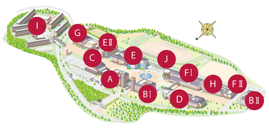 Apu Campus Map Campus Map | APU Ritsumeikan Asia Pacific University